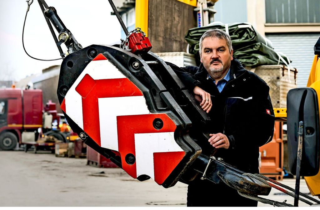 Ein Geschäftsführer, der auch mal Geheimagent sein kann: Paule-Chef Rainer Schmid. Foto: Lichtgut/Max Kovalenko