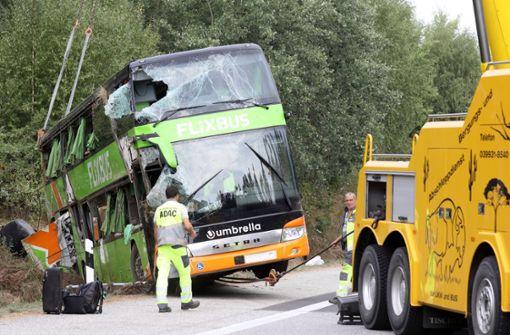 Fahrer von Fernbus wird vernommen