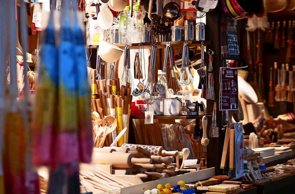 Krämermärkte ergänzen den  Handel. Die Städte verfolgen mit ihnen noch ein weiteres Ziel: die Ortskerne zu beleben. Foto: Eileen Breuer