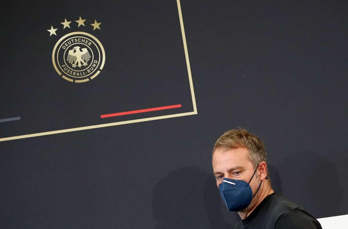 Der DFB bestreitet am Sonntag ein WM-Qualifikationsspiel in Stuttgart. Foto: dpa/Tom Weller