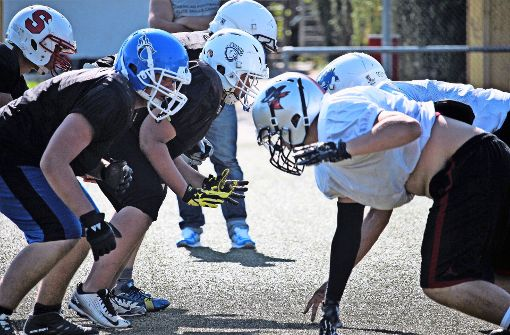 Ferien im  American-Football-Camp