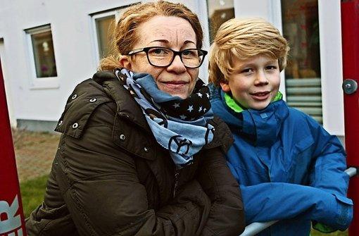 Olga Zimmer und ihr Sohn Robin zählten zu den ersten, die im Sommer 2014  Glück bei der Ziehung hatten. Foto: Ana-Marija Bilandzija