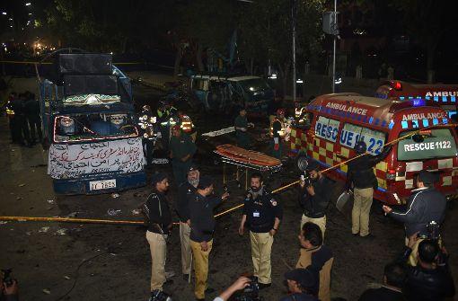 Tote und Verletzte bei Explosion