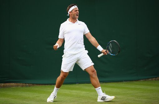 Willis startet in Wimbledon durch