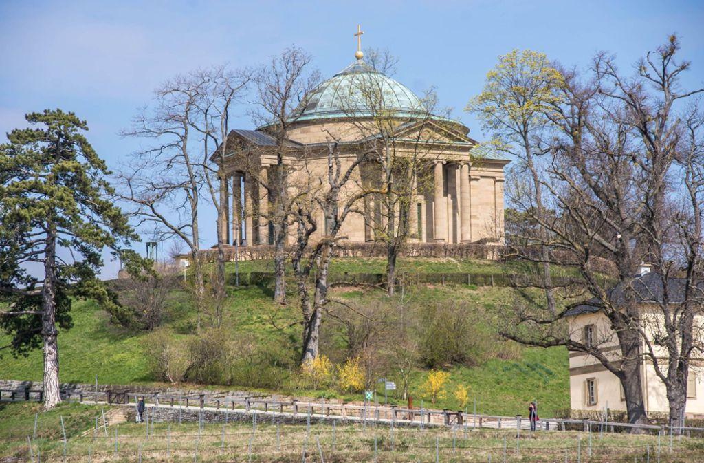 Die Grabkapelle auf dem Württemberg hat jetzt 200 Jahre auf dem Buckel. (Archivbild) Foto: 7aktuell.de/Andreas Werner
