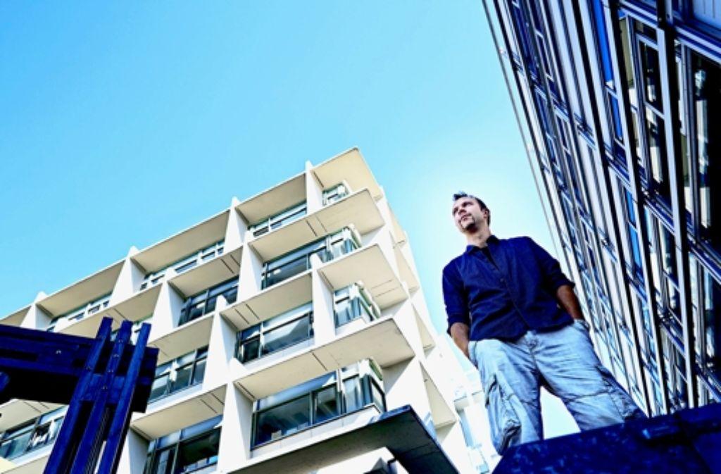 Janis Rozkalns will gesprühte Kunst als Vorlage für Architektur nutzen. Das Stadtkind stellt die Urban Art in Stuttgart vor, wie die folgende Bilderstrecke dokumentiert. Foto: Heinz Heiss
