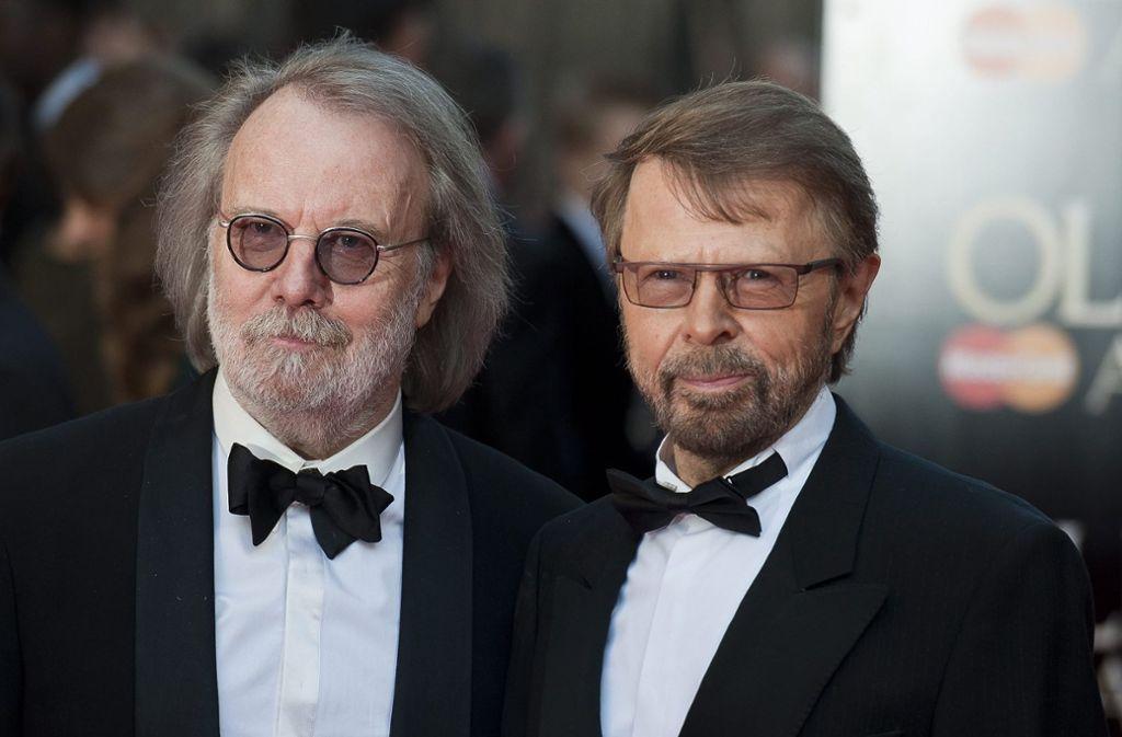 Die Abba-Frontmänner Benny Andersson (71) und Björn Ulvaeus (73) haben nun aus dem Nähkästchen geplaudert. Foto: dpa