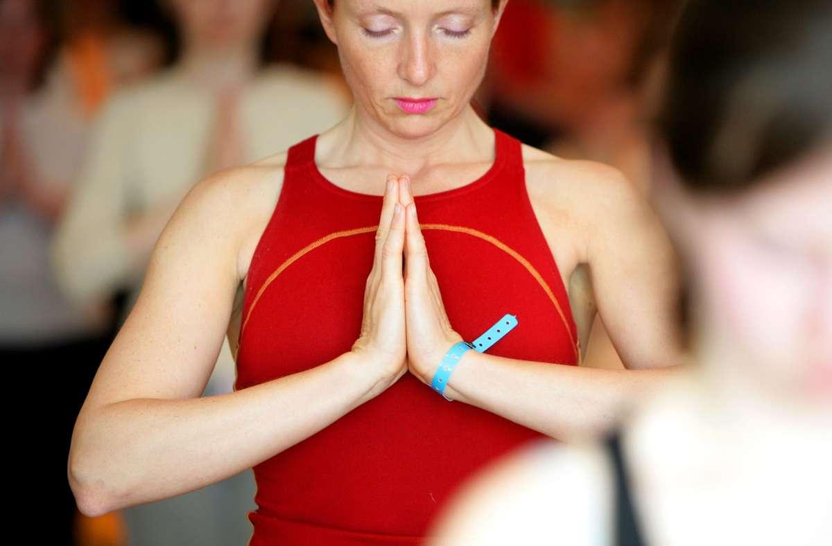 Die Yoga-Studios bleiben geschlossen. (Symbolbild) Foto: picture-alliance/ dpa