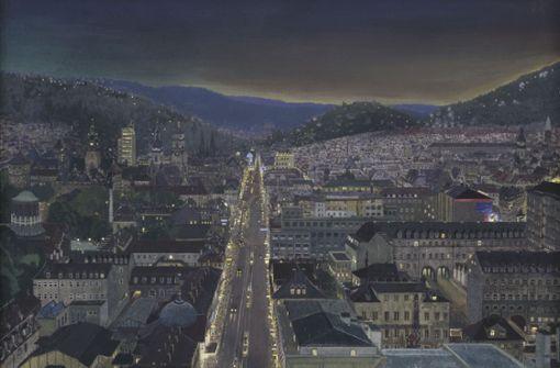 Stuttgart zum Leuchten gebracht