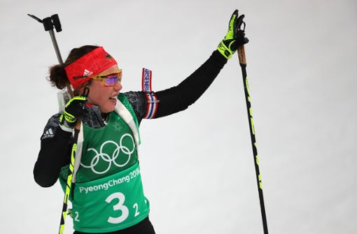 Laura Dahlmeier und Co. verpassen Medaille in der Mixed-Staffel