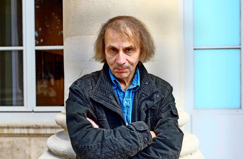 Manche sehen in Michel Houellebecq einen notorischen Zündler, andere den wichtigsten Autor unserer Zeit. Foto: AFP