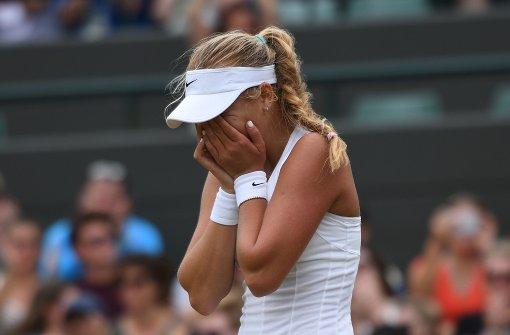 Angelique Kerber verpasst Wimbledon-Titel