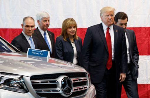 Autozölle würden Porsche und Mercedes treffen