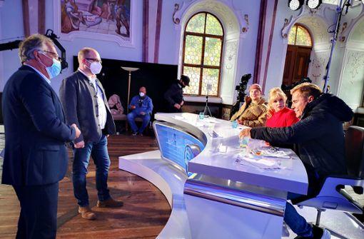 Dieter Bohlen dreht im Ländle