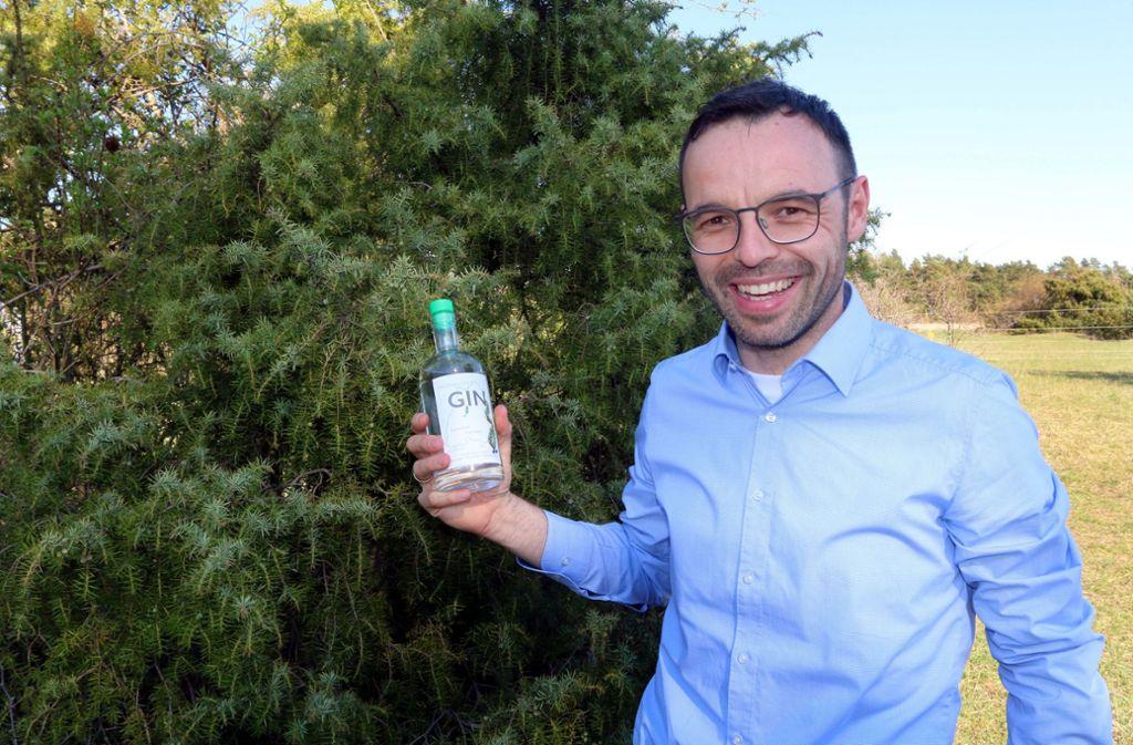 Sebastian Stanger ist zum Gin-Experten geworden. Foto: Andreas Gorr