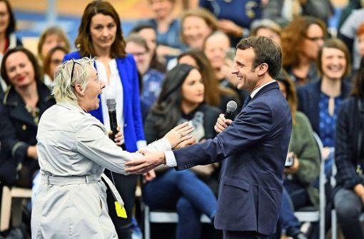 Macron zeigt sein Talent als Menschenfischer
