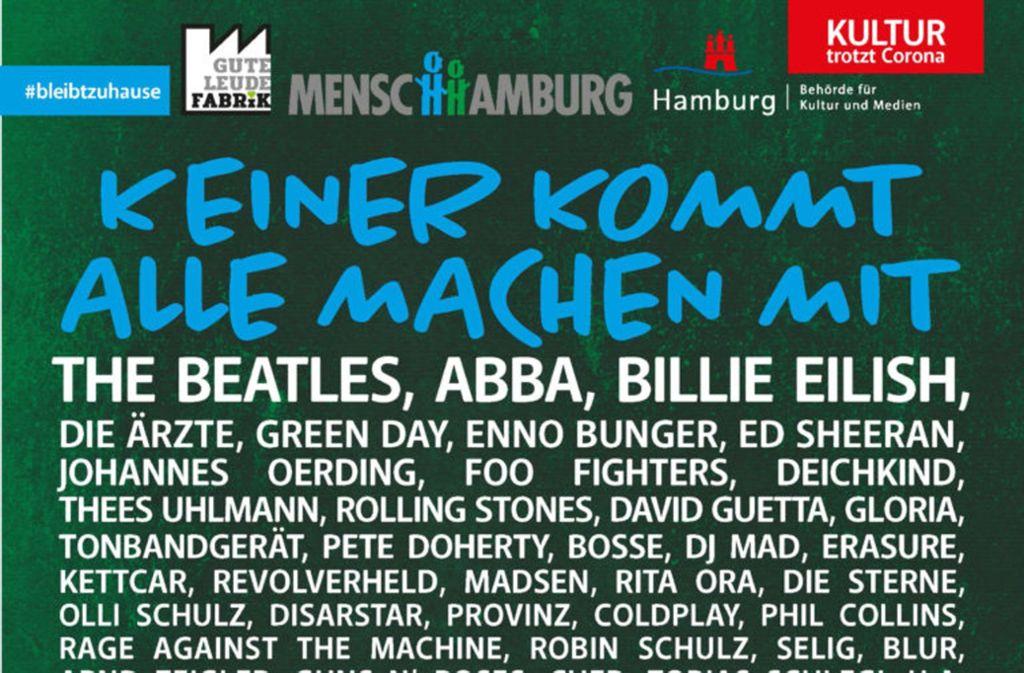 """Ein sensationelles Aufgebot: einige der Bands, die """"fast"""" gespielt hätten. Foto: Festival"""