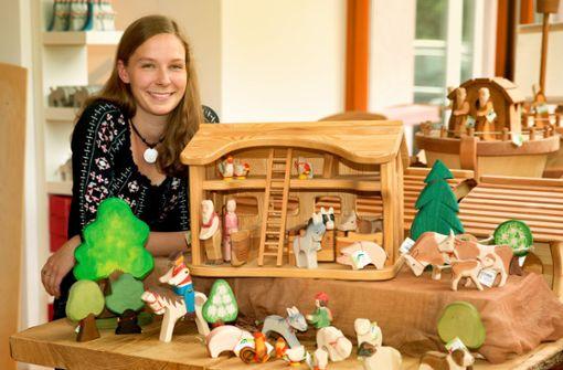 Kleine Holzfiguren –  große Begeisterung