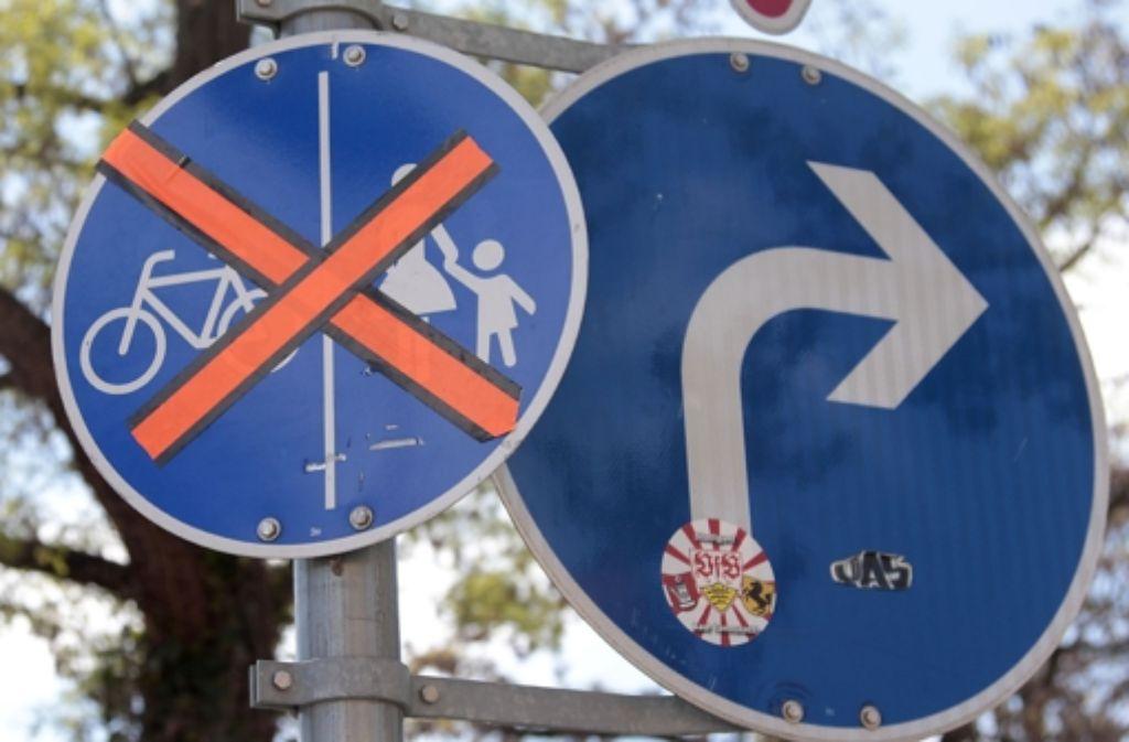 Der Radverkehr hat in Stuttgart nicht überall Vorfahrt. Foto: factum/Granville