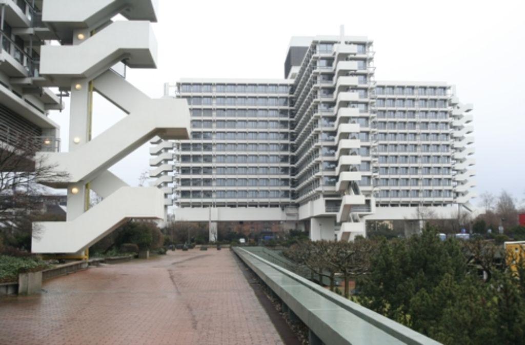 Die Zentrale des Eisenbahnbundesamts in Bonn Foto: Eba