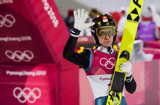 Unwürdige Bedingungen bei Wellinger-Sieg im Skispringen