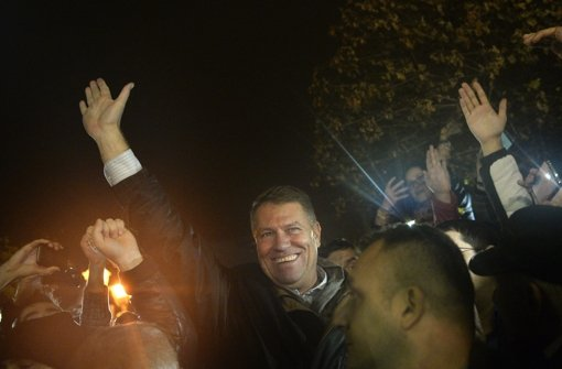 Deutschstämmiger Iohannis gewinnt Wahl