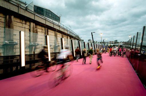 Ein Herz für Fahrradfahrer