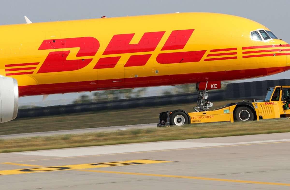 In der Deutsche Post-DHL-Flotte befinden sich 260 Flugzeuge. (Archivbild) Foto: dpa/Jan Woitas