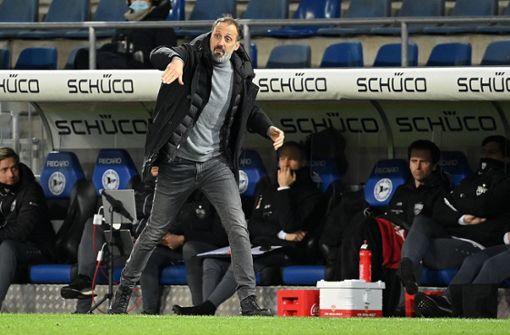 Der VfB verliert erst die Linie, dann die Punkte