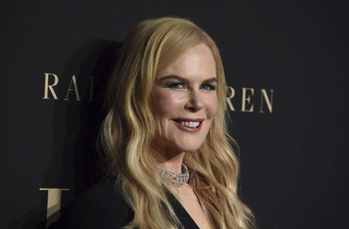 """Nicole Kidman spielt in """"Nine Perfect Strangers"""" die Leiterin eines edlen Heilbads. Foto: dpa/Jordan Strauss"""