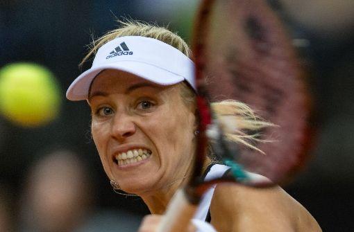 Kerber bei Stuttgarter Tennisturnier gegen Mladenovic