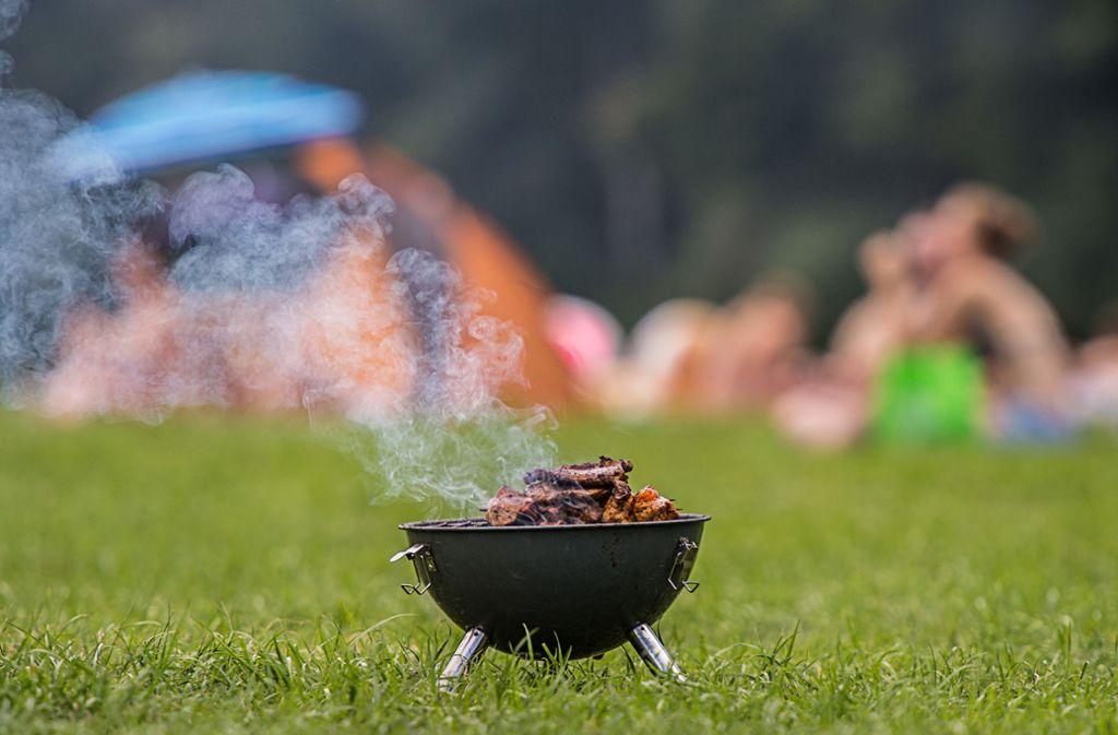 Laut einer Umfrage des Marktforschungsunternehmens Nielsen kommt bei fast 96 Prozent der deutschen Haushalte Fleisch auf den Grill. Foto: dpa