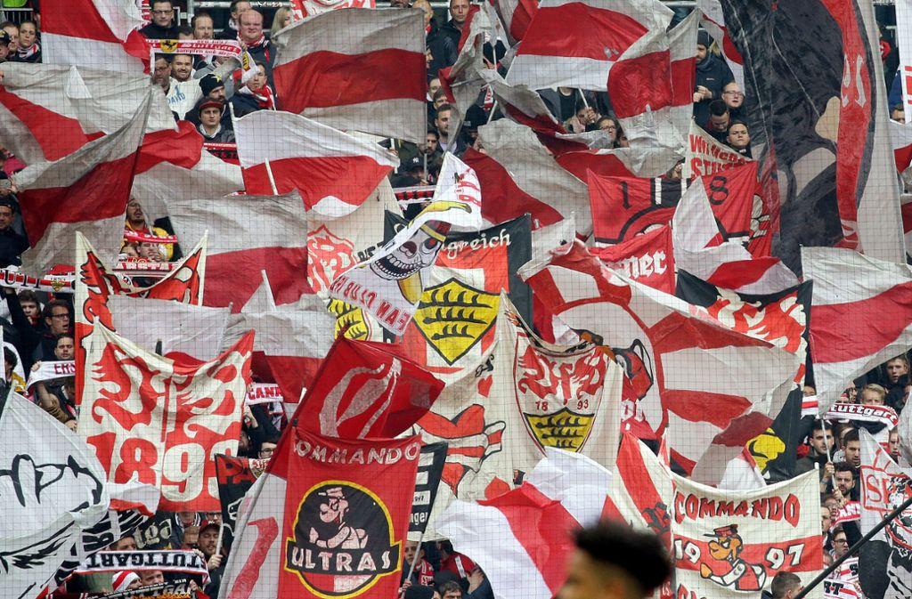 Der VfB Stuttgart kann sich auf seine Fans verlassen. Foto: Pressefoto Baumann