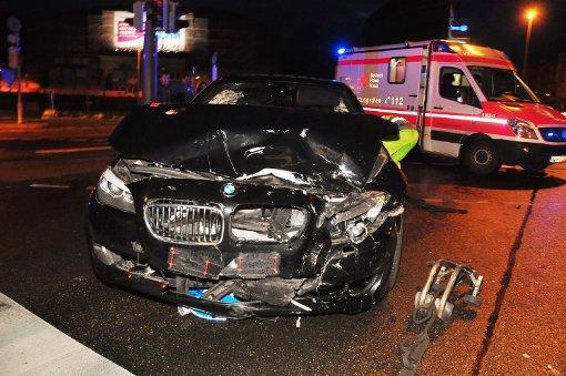 Schwerer Unfall am Charlottenplatz