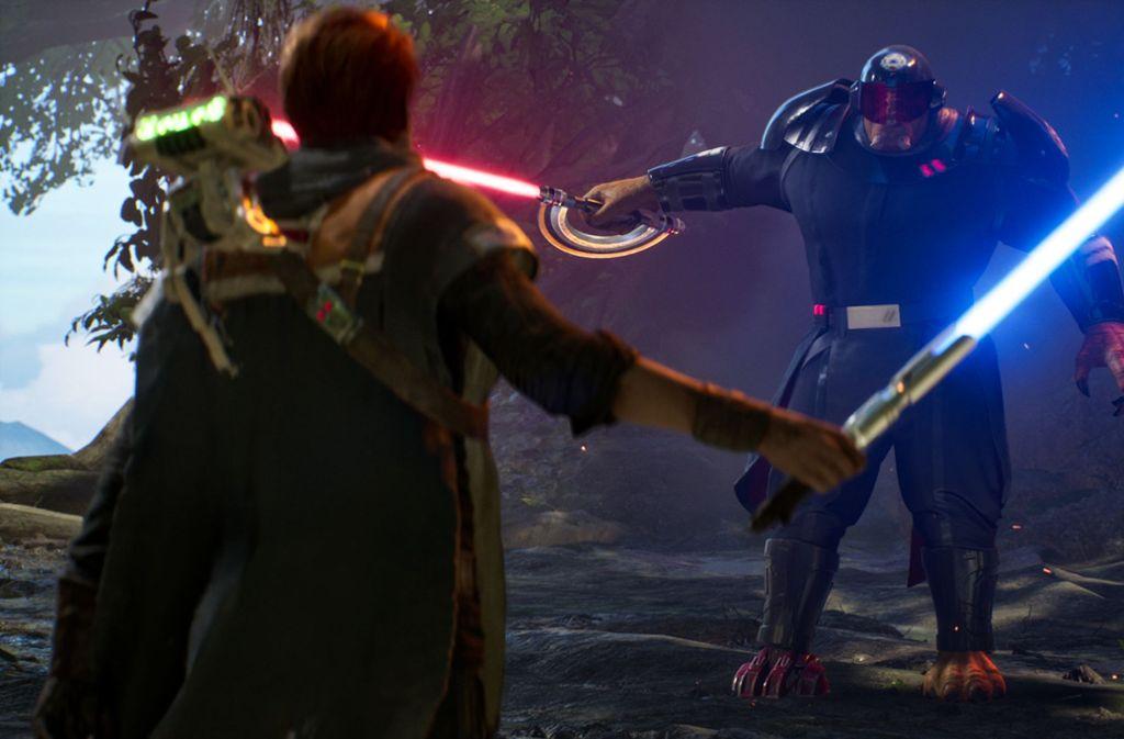 Cal trifft auf die Neunte Schwester – da ist Lichtschwert-Action vorprogrammiert. Foto: