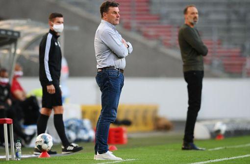 HSV-Coach Hecking zeigt sich nach später Niederlage kämpferisch