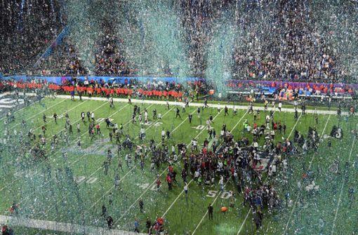 So feierten Stuttgarter das Football-Finale