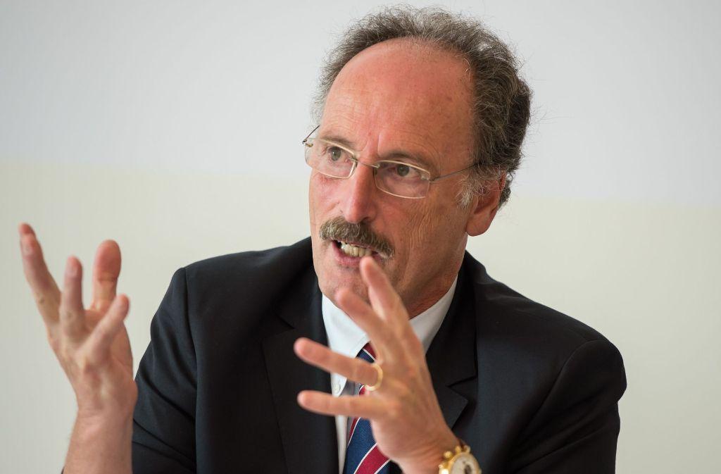 Hauptgeschäftsführer der Industrie- und Handelskammer Andreas Richter. Foto: dpa