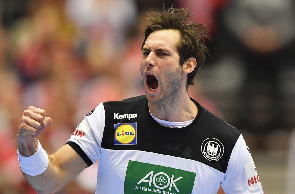 Bald geht Uwe Gensheimer wieder für die Rhein-Neckar Löwen auf Torejagd. Foto: AP