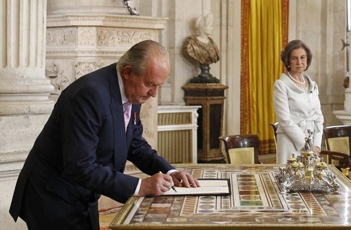Juan Carlos hat abgedankt