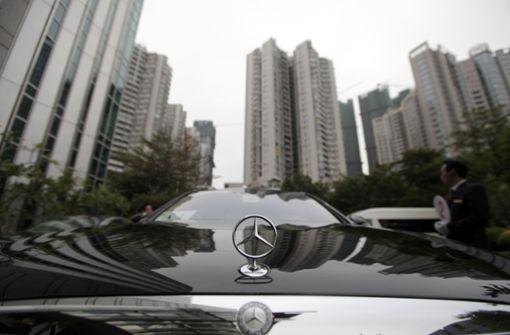 Chinesen fahren auf Mercedes ab