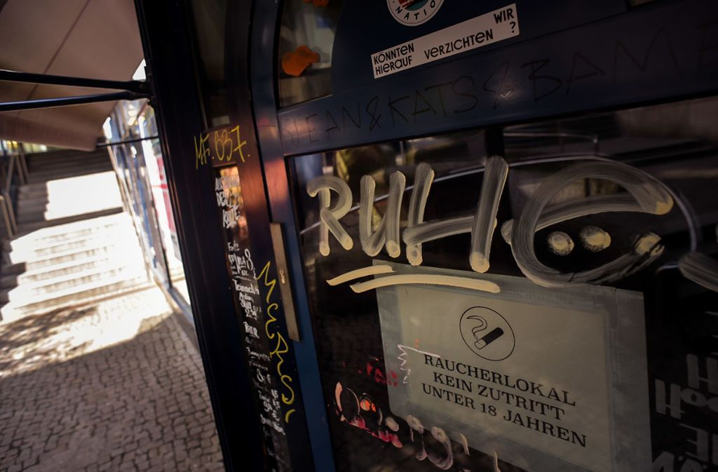 Das Ice Café Adria in der Stuttgarter Innenstadt ist jüngst Ziel von Buttersäure-Attacken geworden – dass Konflikte gar nicht erst so eskalieren, dafür soll ein Nachtbürgermeister sorgen. Foto: /Max Kovalenko