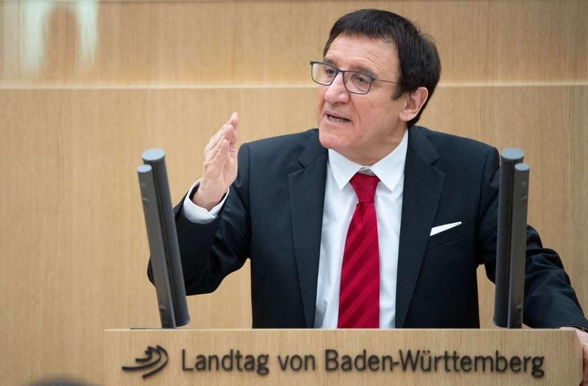 Wolfgang Reinhart  strebt scheinbar einen Ministerposten an. (Archivbild) Foto: dpa/Marijan Murat
