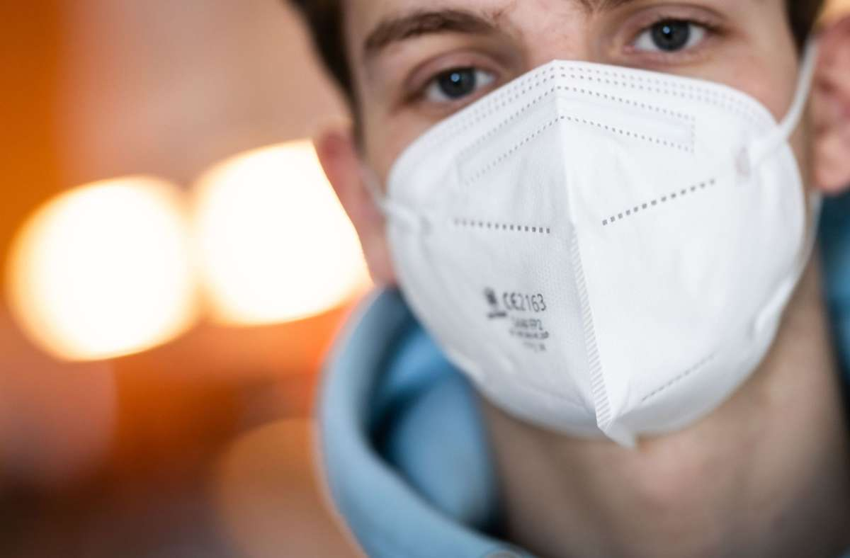 FFP2-Masken sind Einwegprodukte. (Symbolfoto) Foto: dpa/Frank Rumpenhorst