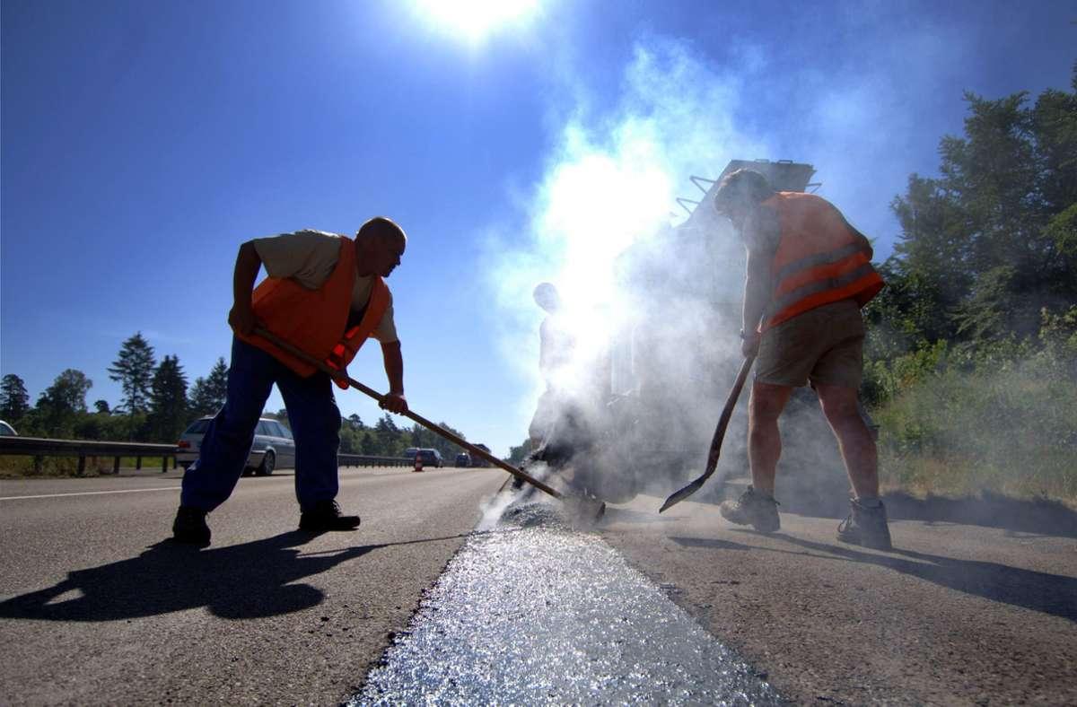 Die Bauarbeiten an der Straße zwischen Schönaich und Holzgerlingen sind fertig. (Symbolbild) Foto: