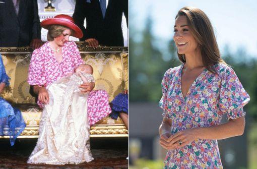 Darum trägt Herzogin Kate derzeit oft dasselbe wie Diana
