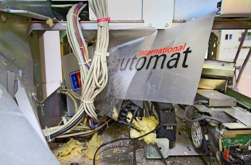 Automatensprenger gehen mehrere Jahre ins Gefängnis