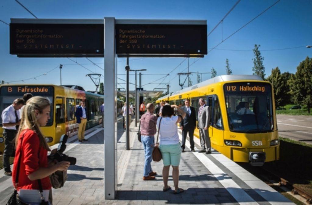 Für neue Stadtbahnen gibt es keine Zuschüsse von Bund und Land. Foto: lichtgut/ Zweygarth