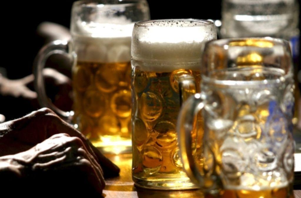 Mitarbeiter der Mobilen Jugendarbeit haben den Alkoholkonsum Heranwachsender auf dem Frühlingsfest kritisiert. Foto: ddp