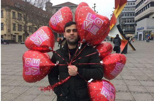 Das halten Stuttgarter vom Valentinstag